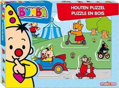 Bumba Voertuigen - Houten Puzzel (5)