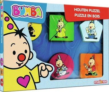 Bumba Beroepen - Houten Puzzel (5)