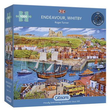Endeavour Whitby - Puzzel (1000)