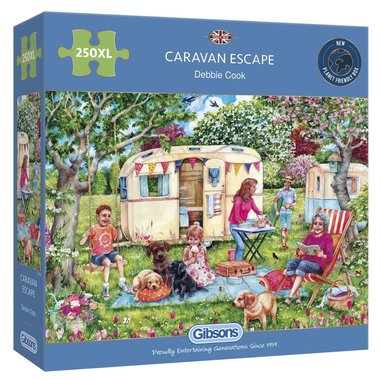 Caravan Escape - Puzzle (250XL)