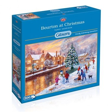 Bourton at Christmas - Puzzel (500)