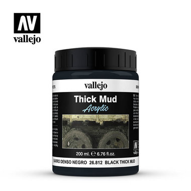 Thick Mud: Black Thick Mud (Vallejo)