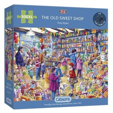 The Old Sweet Shop - Puzzel (500XL)