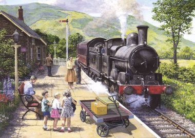 All Aboard to Keswick - Puzzel (1000)
