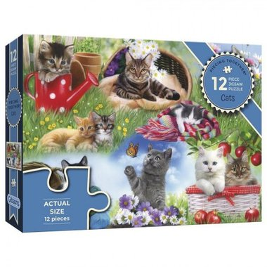 Piecing Together: Cats - Puzzel (12)