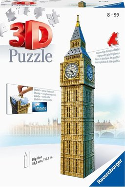 Big Ben - 3D Puzzel (224)