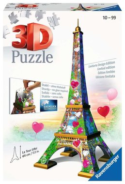 La Tour Eiffel - 3D Puzzel (224) [LOVE EDITION]