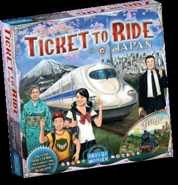 [GEMIDDELD BESCHADIGD] Ticket To Ride - Map Collection: Japan & Italy