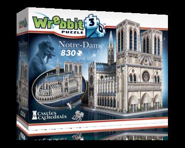Notre-Dame - Wrebbit 3D Puzzle (830)