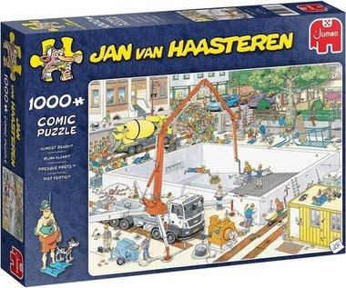 Bijna Klaar? - Jan van Haasteren Puzzel (1000)