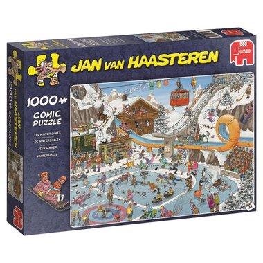 De Winterspelen - Jan van Haasteren Puzzel (1000)