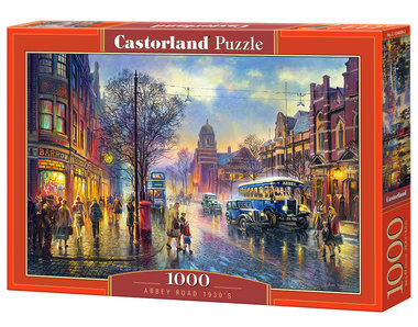 Abbey Road 1930's - Puzzel (1000)
