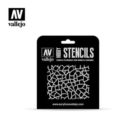 Hobby Stencils: Giraffe Camo WWII (Vallejo)