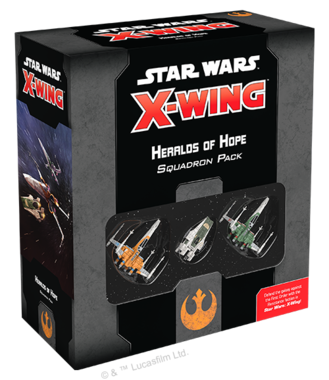 Star Wars X-Wing 2.0 - Heralds of Hope Squadron Pack
