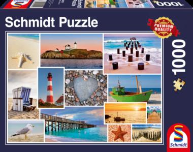 Aan zee - Puzzel (1000)