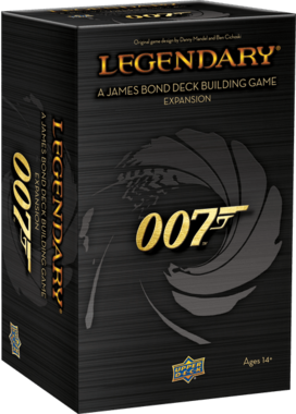 Legendary: A James Bond Deck Building Game Expansion