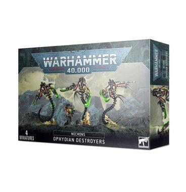 Warhammer 40,000 - Necrons: Ophydian Destroyers