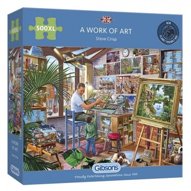 A Work of Art - Puzzel (500XL)