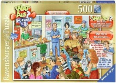 Wat Als #1: Bij de Dierenarts - Puzzel (500)
