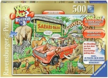 Wat Als #3: Safaripark - Puzzel (500)