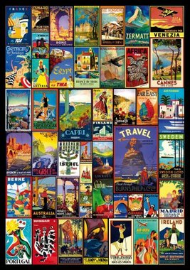 World Travel Posters - Puzzel (250)