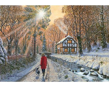 Winter Woodland - Puzzel (500)