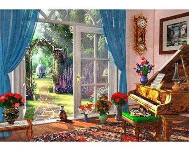 Summer Garden View - Puzzel (40)