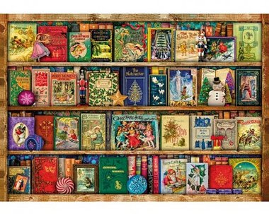 Festive Bookshelf - Puzzel (40)