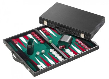 Backgammon (Standard Medium Green)