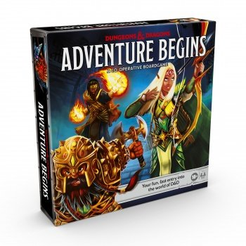 Dungeons & Dragons: The Adventure Begins