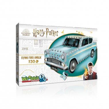 Harry Potter: Flying Ford Anglia - Wrebbit 3D Puzzle (130)