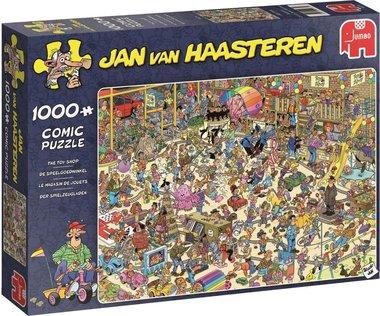 De Speelgoedwinkel - Jan van Haasteren Puzzel (1000)