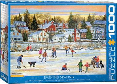 Evening Skating - Puzzel (1000)