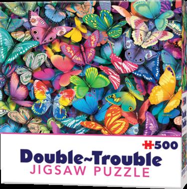 Butterflies - Double Trouble Puzzle (500)