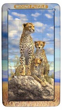 Cheetah - 3D Magna Portrait Puzzle (32)
