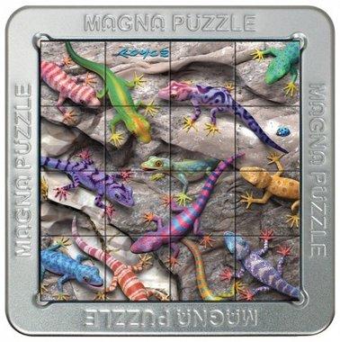 Geckos - 3D Magna Small Puzzle (16)