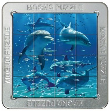 Dolphins - 3D Magna Small Puzzle (16)