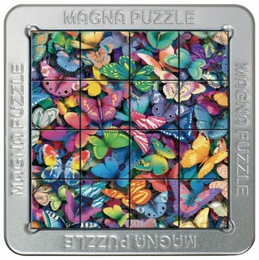 Butterflies - 3D Magna Small Puzzle (16)