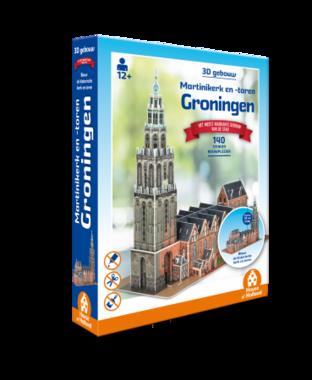 Groningen: Martinikerk en -toren - 3D Puzzel (140)