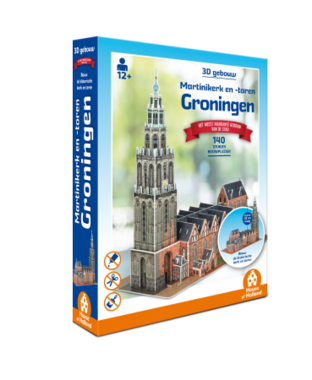 Zwolle: Sassenpoort - 3D Puzzel (90)