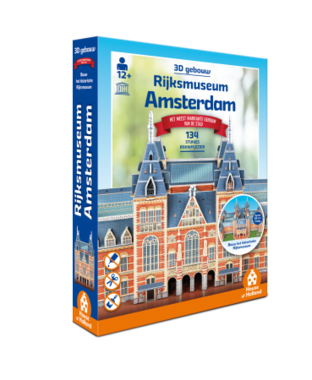 Amsterdam: Rijksmuseum - 3D Puzzel (134)