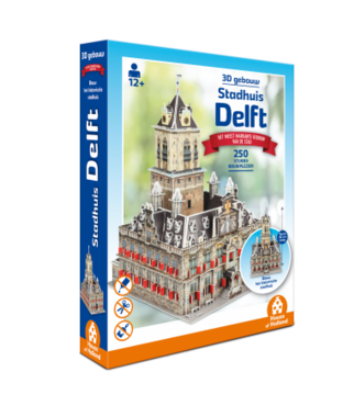 Delft: Stadhuis - 3D Puzzel (250)