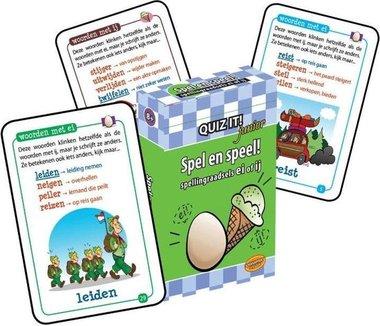 Quiz It! Junior: Spel en speel! (Spellingraadsels ei/ij)
