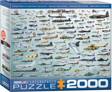 Evolution of Military Aircraft - Puzzel (2000)