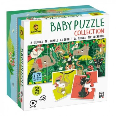 Baby Puzzle Collection: Jungle (32)