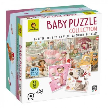 Baby Puzzle Collection: City (32)