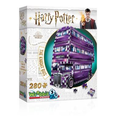 Harry Potter: The Knight Bus - Wrebbit 3D Puzzle (280)