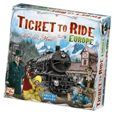 Ticket to Ride: Europe [ENG]