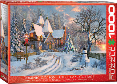Christmas Cottage - Puzzel (1000)