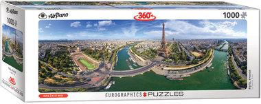 [ZWAAR BESCHADIGD] Paris, France - Panorama Puzzel (1000)